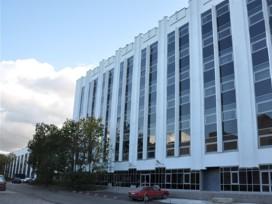 Фасад бизнес центра Берег